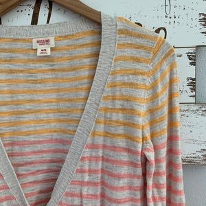 Mossimo | Striped Button Up Cardigan